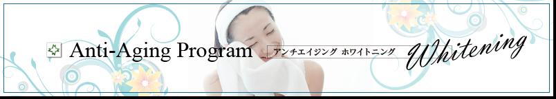 松島皮膚科医院 アンチエイジンホワイトニング