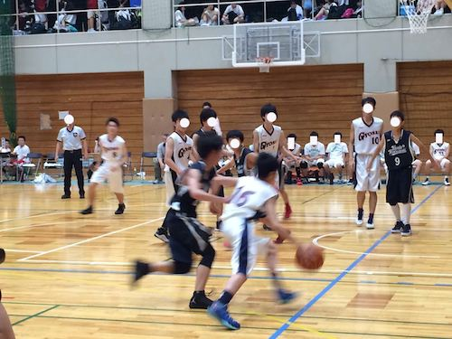 バスケットボールの応援