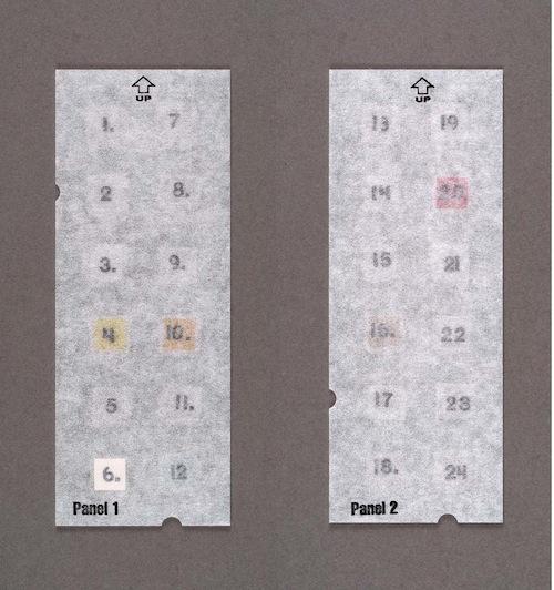 パッチテストパネルS パネル1&2
