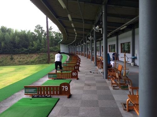 アートゴルフの打席