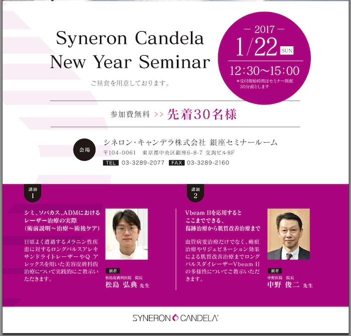 Syneron Candela Seminar 2017-1