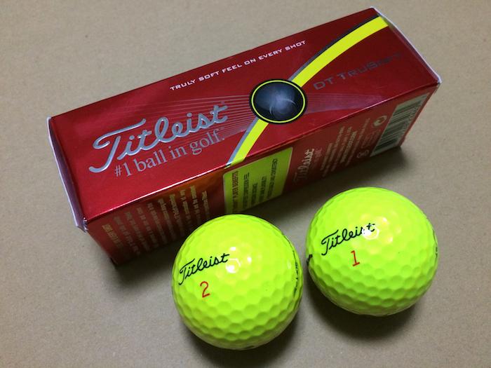 タイトリスト 2ピースゴルフボール