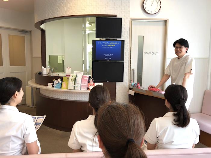 2017院内セミナー(シミ、ソバカスのレーザー治療)
