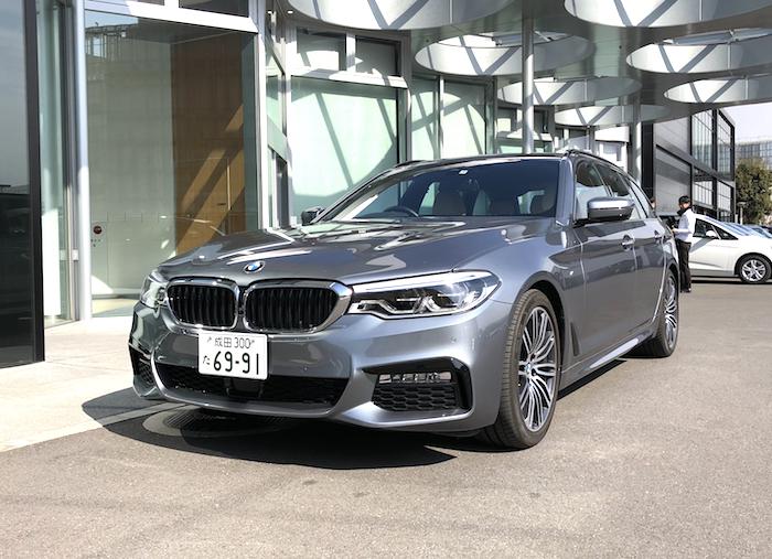 BMW試乗 523dツーリング-1