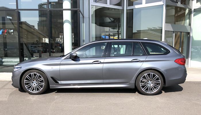BMW試乗 523dツーリング-2