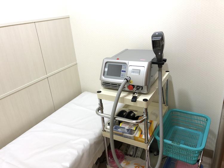 ダブリン7(紫外線治療器)を導入-2